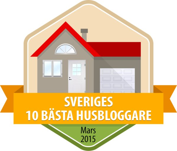 Mars 2015 - 10 bästa husbloggarna