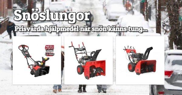 Snöslungor till riktigt bra priser!