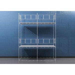 Byggställning Modul - 6x7 m - Stål