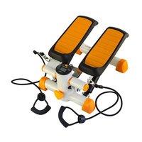 Stepmaskin - Med träningsband & träningsdator (orange-vit S3092)