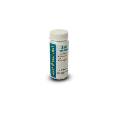 Teststickor för klor/pH/alkalinitet