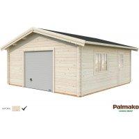 Garage Roger med takskjutport - 27,7 m²