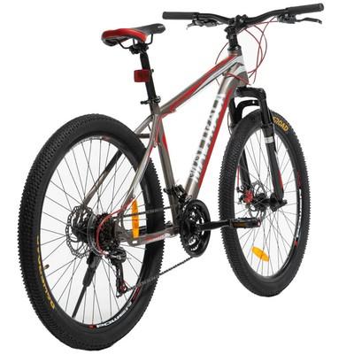 """Mountainbike Sport 26\\\"""" - Grå & röd"""