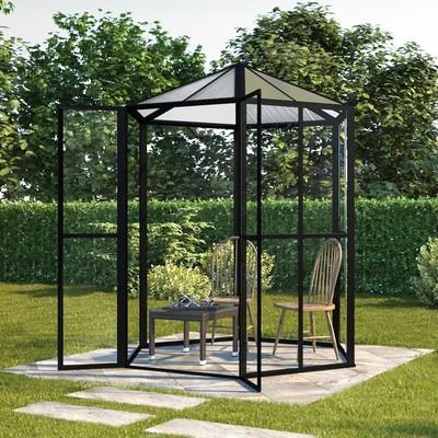 Växthus Merkurius - 3,7 m²