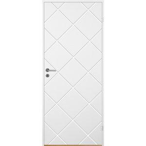 Innerdörr Bornholm - Kompakt - Spårfräst dekor A12