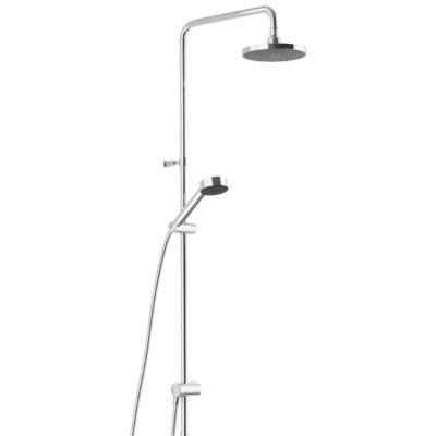 Mora MMIX Shower System S5 - Med tak- och handdusch - Krom