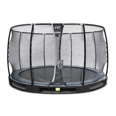 Studsmatta marknivå Elegant Premium - 366 cm + Säkerhetsnät Deluxe