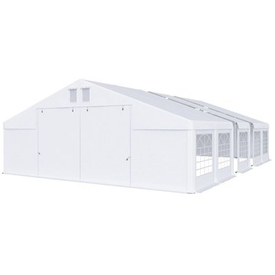 Partytält i PVC - 8 x 18 m