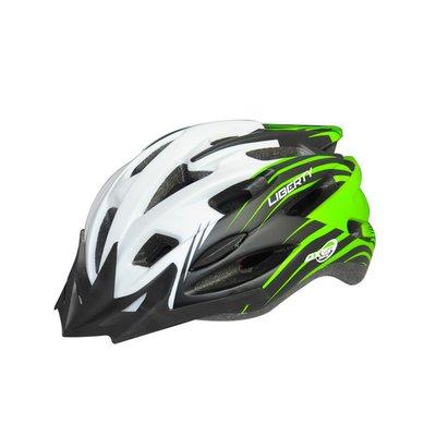 Cykelhjälm Liberty grön