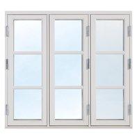 2+1 Traditionsfönster - Trä - 3-luft - Målat