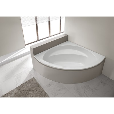 Hörnbadkar - Prestige för inbyggnad   Djup 44cm