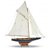 Modellbåt Columbia segelbåt - Mahogny
