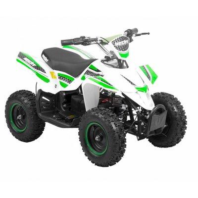 Mini-fyrhjuling Vit & grön - 800W