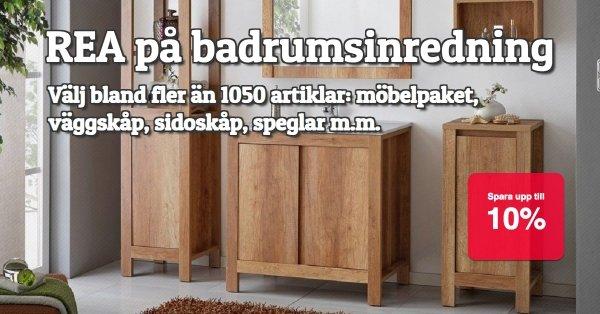 Badrumsinredning REA på fler än 1050 artiklar!