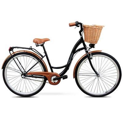 """Cykel Classic 28\\\"""" - 3 växlar - svart"""