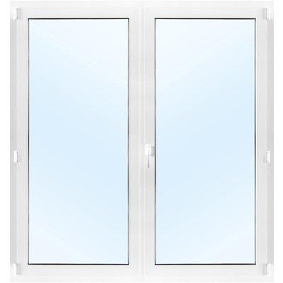 Parfönsterdörr 2-glas - Inåtgående med tilt - PVC