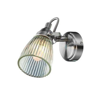 Lahall Vägglampa - Stål/Klarglas