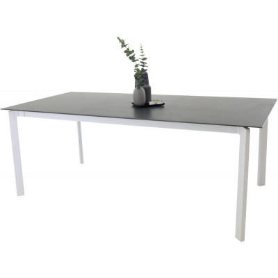 Farstorp Matbord (200*100 cm) – Vit/grå