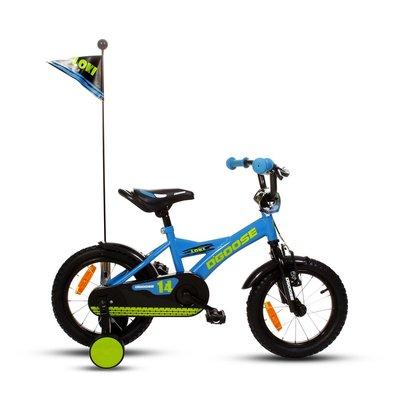 """Cykel D\\\'Goose 14\\\"""" - blå"""