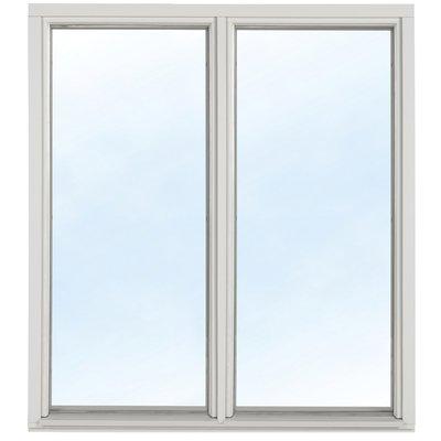 Fast fönster med bågpost - Trä - 3-glas U-värde 1,1
